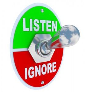 Listen Ignore